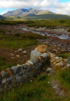 Sligachan, Isle Of Skye, Scottish Highlands, Scotland.