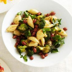 This Pasta, Red Bean & Parsley Toss features pantry staples to create an easy and delicious weeknight dinner. More simple dinners: http://www.bhg.com/recipes/quick-easy/simple-dinners-from-pantry-staples/?socsrc=bhgpin062913pastaredbean=9