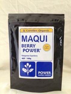 Navitas Naturals Maqui Powder 3 Ounce Pouches Amazon Com