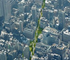 The Green Line Proposal: Perkins Eastman is taking two of the best-loved urban land-use stories of the Bloomberg era—the High Line and Times Square—and combining them into one: http://www.citylab.com/design/2015/12/does-new-york-need-a-second-high-line/420117/