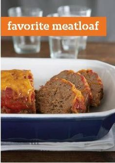 Favorite Meatloaf — Look no further for your new favorite meatloaf! Our recipe uses STOVE TOP stuffing instead of breadcrumbs and is filled with cheddar cheesy goodness.