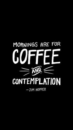 Stranger Things Mornings Are For Coffee And Contemplation T Shirts