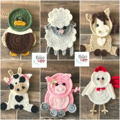 Farm Animals Pattern Pack