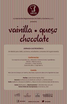 Vainilla - queso - chocolate / Mty / Museo MARCO / 26 Marzo