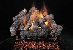 "Gas Logs :: Rasmussen :: Rasmussen Vented Log Sets :: 36 inch :: Rasmussen 36"" Bonfire Log Set - Single Face - BF3614"
