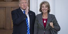 Donald Trump's Education Secretary Pick Wants To Make Christianity A Bigger Part Of Schooling