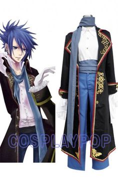 Kaito in Vocaloid Cosplay Costume