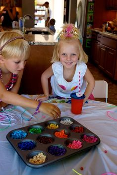Anne's Odds and Ends: Rainbow Theme Birthday Party - Games for the Pre-school Crowd.