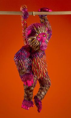 See a Jungle's Worth of Gorgeous Creatures Made From Hermés Scraps