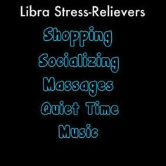 libra stress relievers