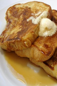 Chef's Best French Toast (vegan). This is really delicious and turned out just as beautiful as the photo. Whole family ate this up. This amount of batter was enough for about half a loaf of Italian bread, which wasn't enough to feed my hungry crew. Next time I will double it.