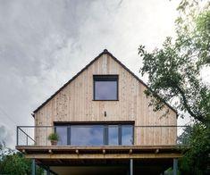 Barevná oáza v zelené džungli | Dřevostavby, časopis o bydlení - DřevoStavby