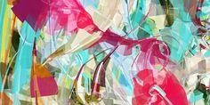 Erik Natzke  Colourstain  Fine Art Canvas  SS2 - 2000mm x 1100mm