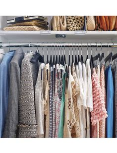 lucky how-to organize your closet : Lucky Magazine