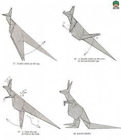 kangaroo origami 3