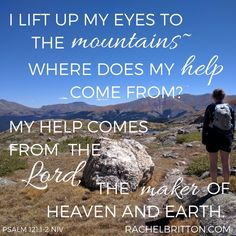I lift up my eyes to the mountains—where does my help come from? My help comes from theLord, the Maker of heavenand earth.Psalm 121:1-2 Our flight landed around midday. As we left the airport, I could see the Rocky Mountains in the distance. I'm always in awe of that initial view as we drive towards them. They rise suddenly, distinct and dramatic against the flat, brown, monotonous plains around Denver. Usually we've been to Breckenridge, Colorado in the winter. My husband, three children…
