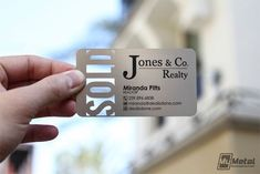 Clear background is cool!  15 Cool Real Estate Agent Business Cards 14 - for Auntie #RealEstateMarketing