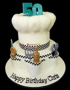 a Chef's Cake by The Gallery Couture Cake