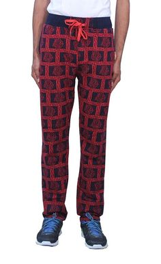 Romano Men's Trendy  Sporty Look Multi-Coloured Fleece Track Pant -- This is an Amazon Affiliate link. You can find more details by visiting the image link.
