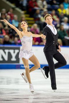 Brittany Jones & Joshua Reagan (CAN) - 2014 Skate Canada LP © Danielle Earl
