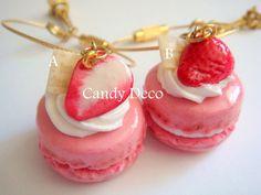Strawberry French Macaron Keychain (Pick One). $16.80, via Etsy.