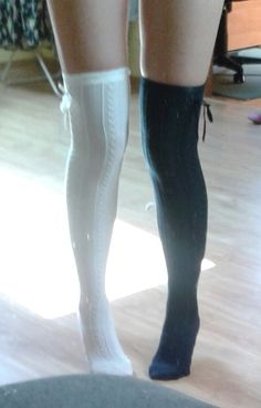 high knee socks<3