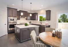 I designed this kitchen for a Adair Homes Customer - Love it!