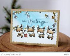 mama elephant   design blog: INTRODUCING: Reindeer Games + Snow-capped Mountains CC