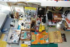 Creative tools, work space by conjure_real, via Flickr