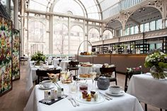 AFTERNOON TEA AT THE ROYAL OPERA HOUSE~ London, UK