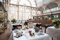 AFTERNOON TEA AT THE ROYAL OPERA HOUSE~ London, UK