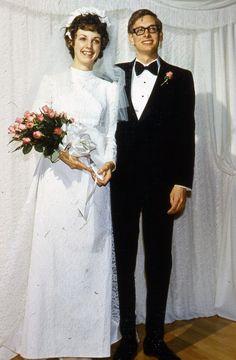 1972-1-27_David Hall and Karen Van Dyke Wedding