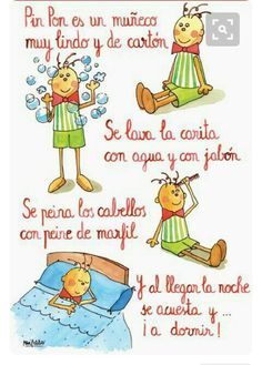 Canço infantil, El muñeco Pin Pon