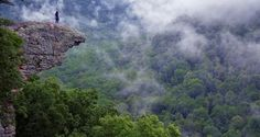 """""""Best Place in AR to Get Kissed"""" Whitaker Point - Hawksbill Crag, Boxley AR"""