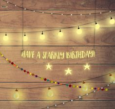 Claire Keay - Lights Birthday Card Claire Keay