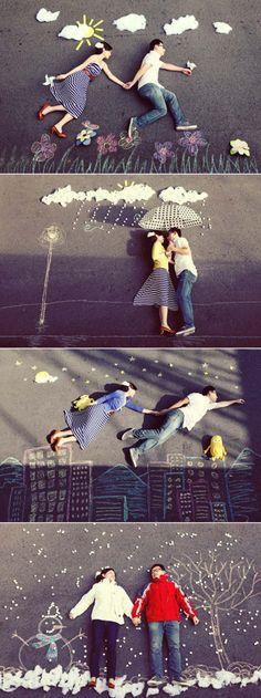 engagement photos :) cute!
