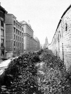 Китайгородская стена в районе Старой площади. 1920 год