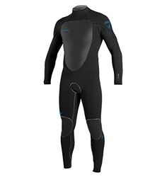 O'Neill Psycho Freak Z.E.N. Zip 4/3 Wetsuit - Men's Black/Black/Black, M -- Want to know more, click on the image.