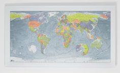 COLOUR Map lemon - orange - thistle - khaki