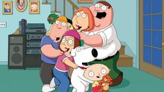 Family Guy at Is Seth MacFarlane's deviant dad still a man for all seasons? 'There is room for highbrow and lowbrow, and with 'Family Guy' we try to embrace a balance between the two,' MacFarlane Peter Griffin, Meg Griffin, Griffin Family, Family Guy Episodes, Family Guy Season, Full Episodes, Family Guy Quotes, Seth Macfarlane, Fan Theories