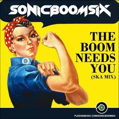 THE BOOM NEEDS YOU!