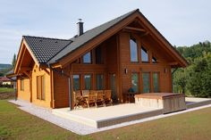 Home Fashion, Future House, Bungalow, Beautiful Homes, Gazebo, House Plans, Outdoor Structures, House Design, Cabin