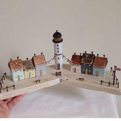 Домик в домике: обласканные морем миниатюры Loraine Spicknell - Ярмарка Мастеров - ручная работа, handmade