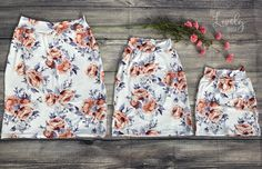 Children's Everyday Pencil Skirt - Made to Order
