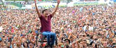 This Guy Crowd Surfing In A Wheelchair Is Exactly What Happiness Looks Like
