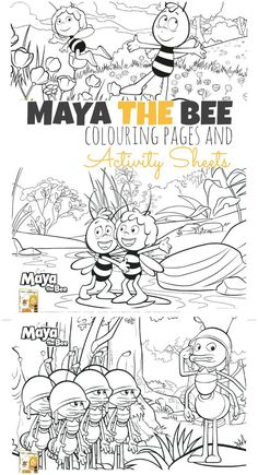 Blog post at KiddyCharts : Join Maya the Bee and her friends on a colourful adventure as today we are sharing these wonderful Maya the Bee colouring pages and activity[..]