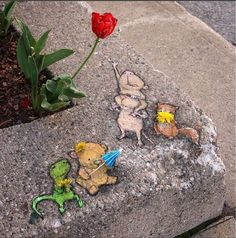 David Zinn,in Ann Harbour, USA, 2016