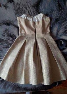 Kup mój przedmiot na #Vinted http://www.vinted.pl/damska-odziez/sukienki-wieczorowe/9864335-zlota-sukienka-gorsetowa-38-lub-36