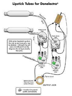 Danelectro Wiring Diagrams | Wiring Diagram on