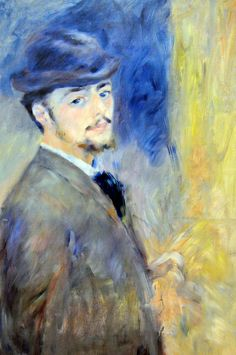 pierre auguste renoir self portrait -